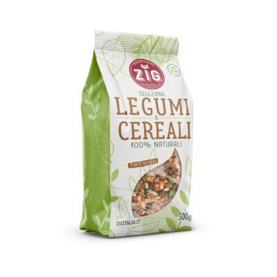 minestra legumi e cereali